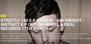 Arkwright – Instinct EP