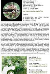 Alter Echo & E3 – MS029