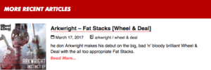 Arkwright – Fat Stacks