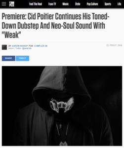 Cid Poitier – Weak ft. Wends