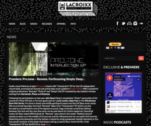 Pro.tone – Interjection EP